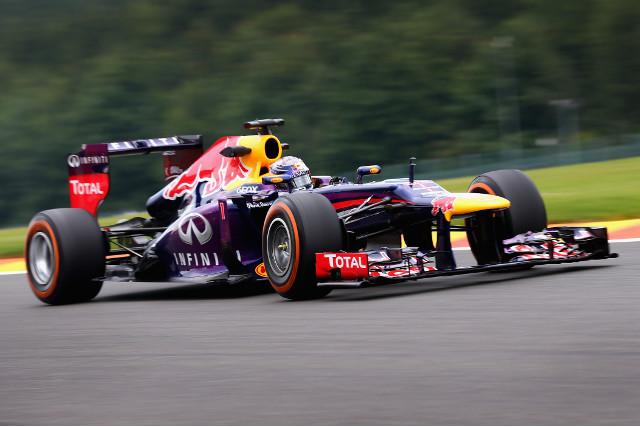 Vettel Belgium 23Aug13