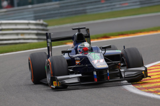 Bird and Fabio Leimer will form the front row for tomorrow's race (Credit: Alastair Staley/GP2 Media Service)