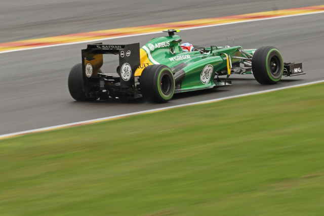 Geido van der Garde's qualifying performance (Credit: Octane Photographic Ltd)