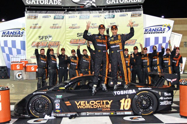 A third win of 2013 put the pairing back in the points' lead (Credit: Grand-Am)