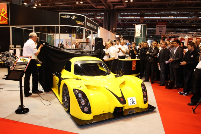 The launch of the Radical RXC was a highlight of ASI 2013 (Credit: Autosport International)