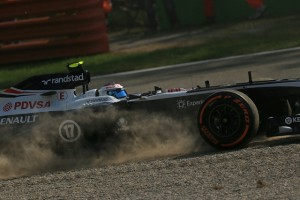 Bottas' day wasn't without incident (Photo Credit: Octane Photographic)