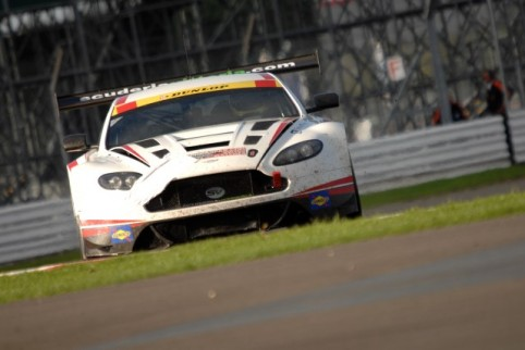Horsepower Racing held onto second, despite carrying front end damage after an off (Credit: Chris Gurton Photography)