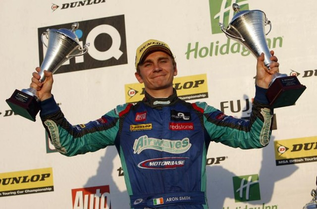 Aron Smith 2013 Silverstone podium