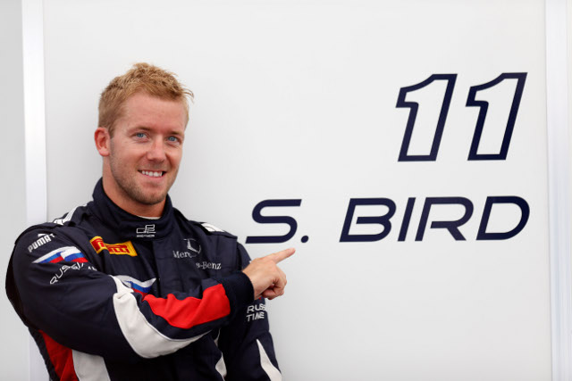 Bird took his second consecutive GP2 pole (Credit: Alastair Staley/GP2 Media Service)