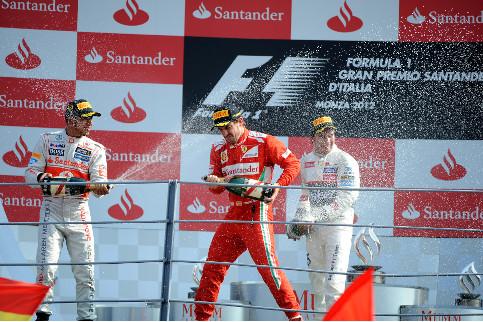 Hamilton (left) won last year - Credit: Pirelli