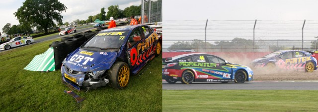 Unlike 2012, the Eurotech man has finished every race thus far in 2013 - which could be vital (Photo: btcc.net)