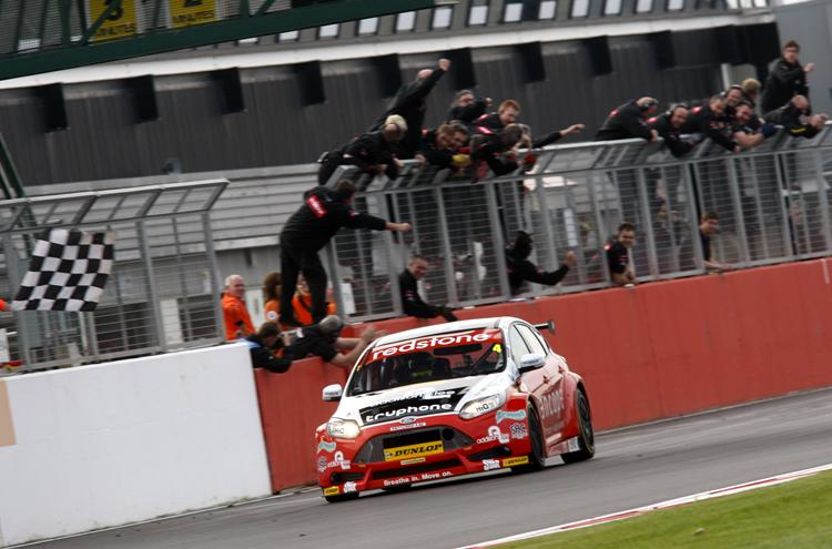 Jackson went back to front for 2012 victory (Photo: BTCC Media)