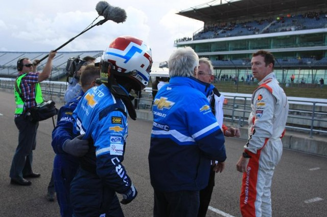"""I'll rip you're f***ing face off!"" (Photo: btcc.net)"