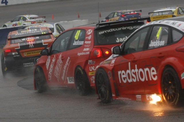Jackson (#48) broke into the top 10 last year at Rockingham (Photo: btcc.net)