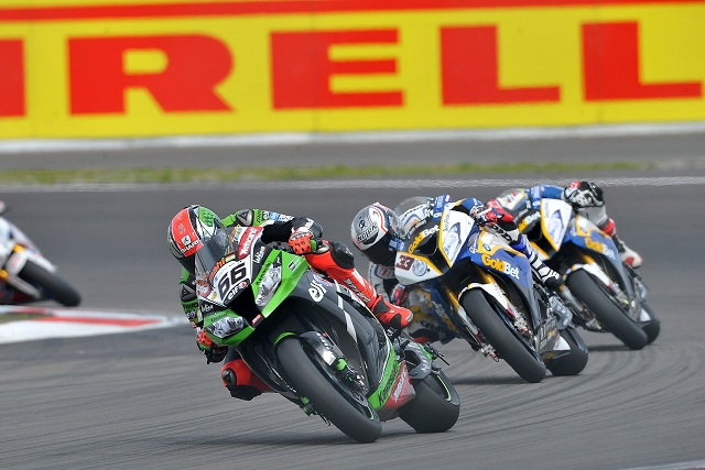 Tom Sykes on his way to victory - Photo Credit: Pirelli