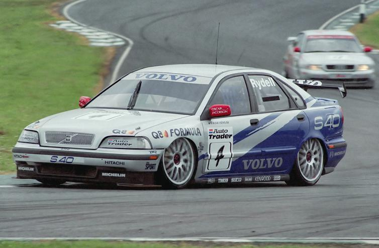 Classic BTCC Races - Silverstone - The Checkered Flag