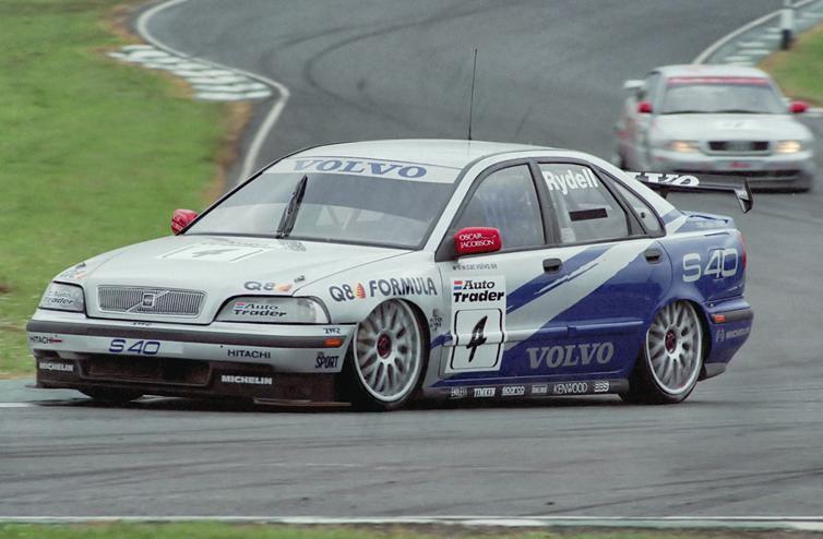 Rickard Rydell 1998 Volvo S40