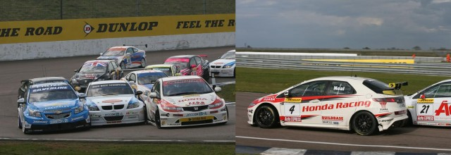 Plato (blue) and Neal (r) both won in 2010 (Photos: btcc.net)