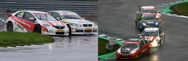 Shedden was sublime last year, while Aron Smith (r) also starred (Photos: btcc.net)