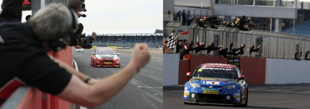 Jackson and Plato claimed amazing 2012 wins (Photos: btcc.net)