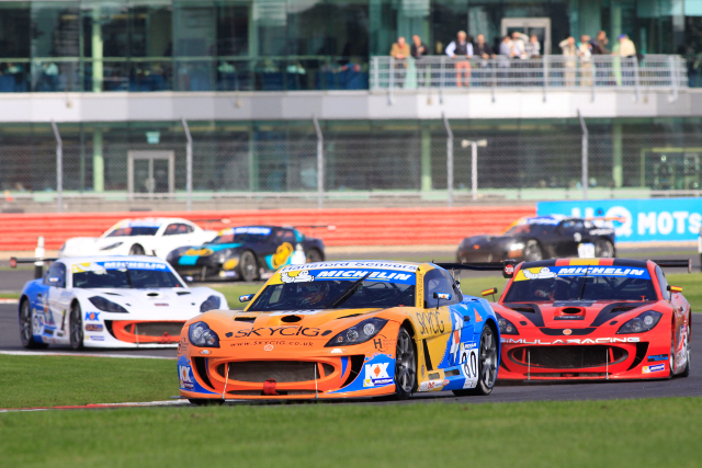 Ingram Completes Silverstone Double To Match Win Record