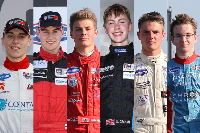 BRDC Formula 4 Championship Top 6 - Credits: Jakob Ebrey Photography