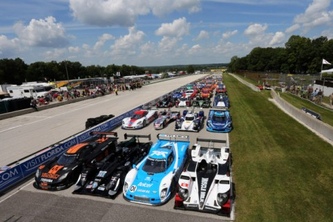 The United SportsCar Championship will combine ALMS and Rolex Series grids (Credit: Grand-Am)