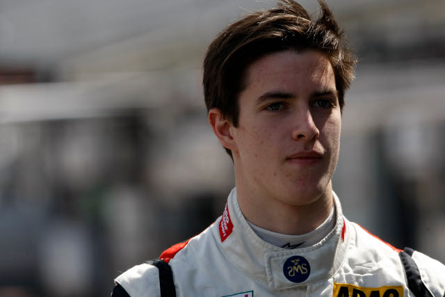 Bryant Meisner will join Fortec after finishing his German F3 campaign (Credit: SRO)
