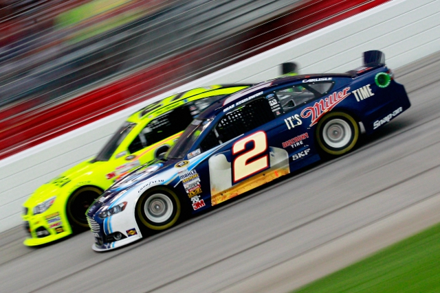 Reigning champion Brad Keselowski us one fighting over the final Chase spots (Credit: Sean Gardner/NASCAR via Getty Images)