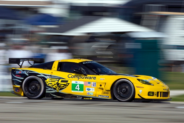 Corvette Racing's Milner and Gavin lead the GT class points (Credit: Richard Prince/Corvette Racing Photo)
