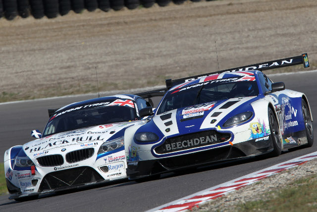 Aston Martin and BMW, first and second in the title fight (Credit: Jakob Ebrey Photography))