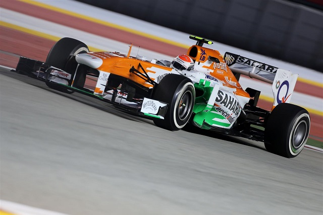 Adrian Sutil - Photo Credit: Force India