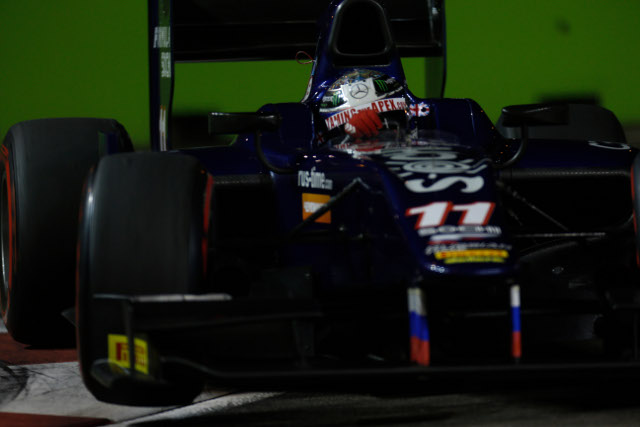 Sam Bird has put Russian time in the GP2 title fight in their first season (Credit: Alastair Staley/GP2 Media Service)