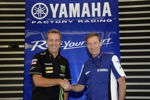 Herve Poncharal and Lin Jarvis - Photo Credit: Yamaha Motor Racing