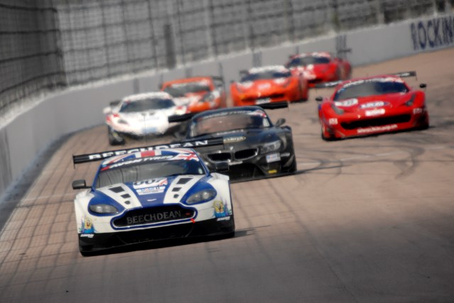 The Beechdean Aston Martin drivers lead the championship to the Netherlands (Credit: Chris Gurton Photography)