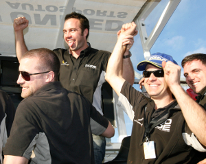 The Academy Team Celebrate Basey-Fishers Challenge Success - Credit: Jakob Ebrey Photography