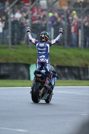 Brands Hatch acclaims its new champion (Photo Credit: Honda)