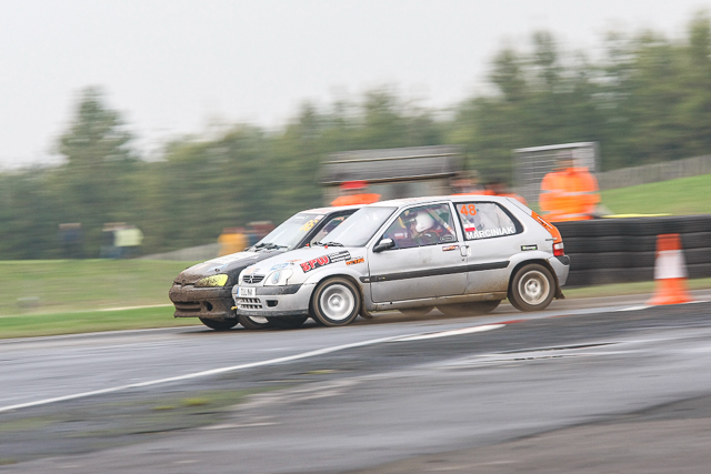 MSA British Rallycross Round 8 Croft, England 19th October 2013
