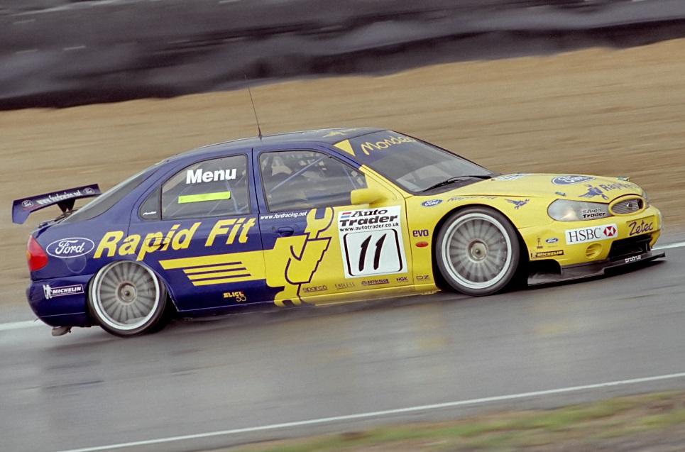 BTCC 2000 Menu