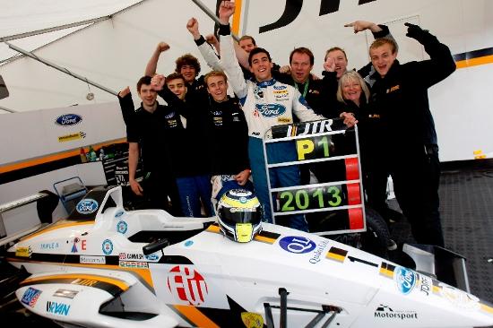 Dan Cammish - 2013 Dunlop MSA Formula Ford Championship of Great Britain Champion