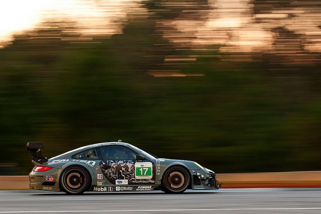 Briton Nick Tandy brought the Team Falken Porsche home to win GT (Credit: Team Falken Tire)