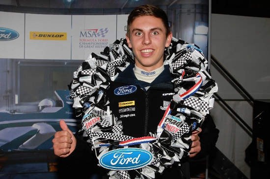 Harrison Scott - 2013 Dunlop MSA Formula Ford Championship of Great Britain 'Scholarship Class' Champion