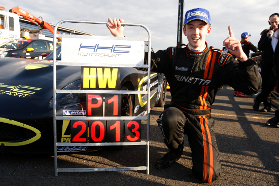 Harry Woodhead - 2013 Ginetta Juniors Champion