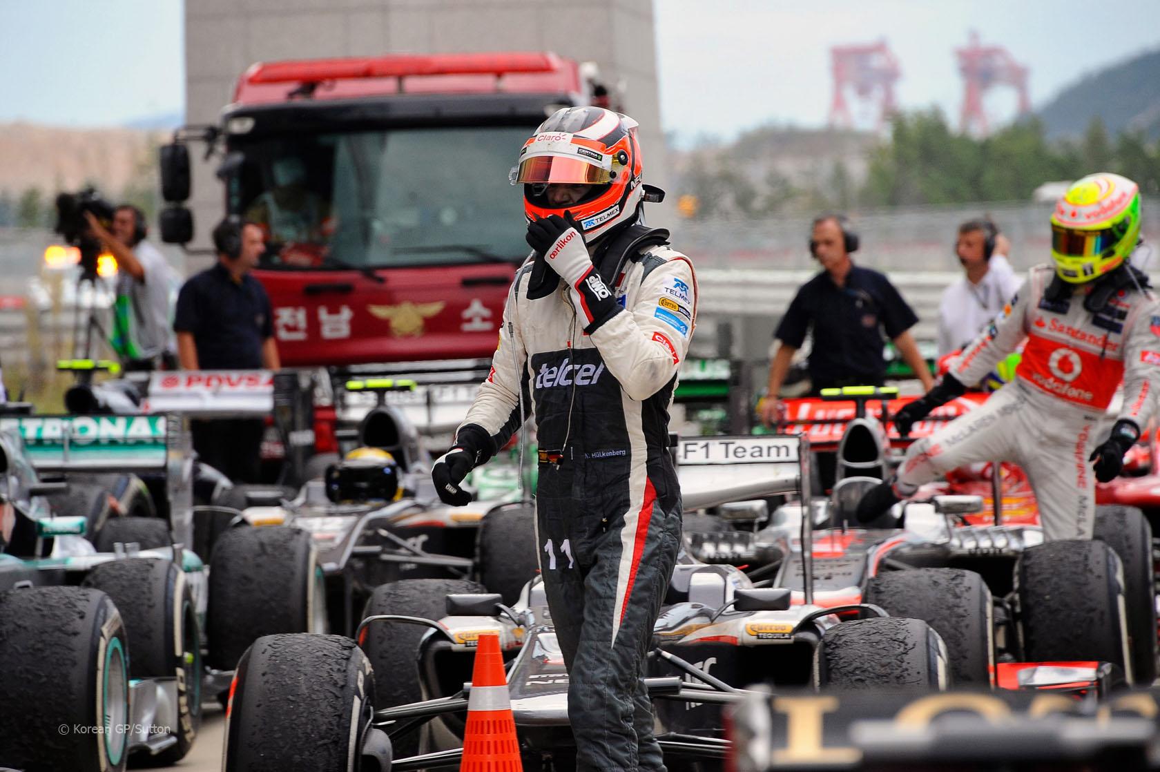 Formula One World Championship, Rd14, Korean Grand Prix, Race Day, Korea International Circuit, Yeongam, South Korea, Sunday 6 October 2013.