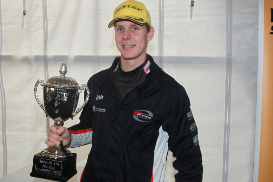 Josh Files - 2013 Renault UK Clio Cup Overall Champion & 'Graduate Cup' Champion