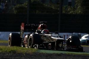 Photo Credit: Charles Coates/Lotus F1 Team