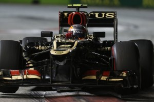 Photo Credit: Alastair Staley/Lotus F1 Team