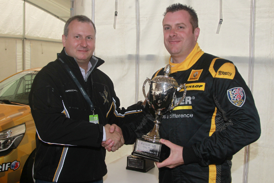 Simon Belcher - 2013 Renault UK Clio Cup 'Masters Cup' Champion