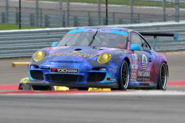 The TRG duo won the GTC class in Austin, and are out for another win (Credit: Kelsi Nilsson)