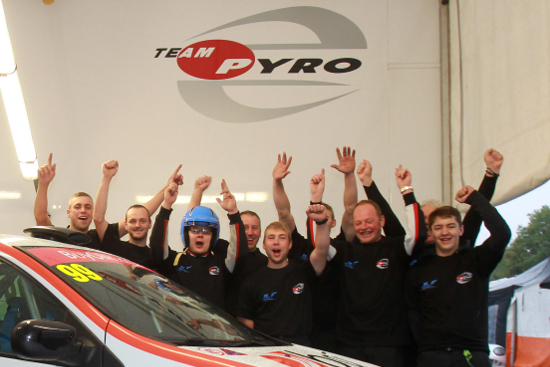 Team Pyro - 2013 Renault UK Clio Cup 'WP Racing Team Trophy' Champions