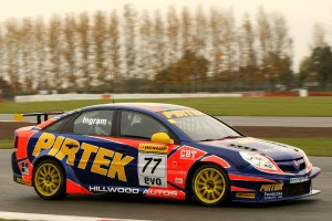 Ingram Tested BTCC Machinery In 2010 As Part Of His Junior Title Prize Fund- Credit: Jakob Ebrey Photography