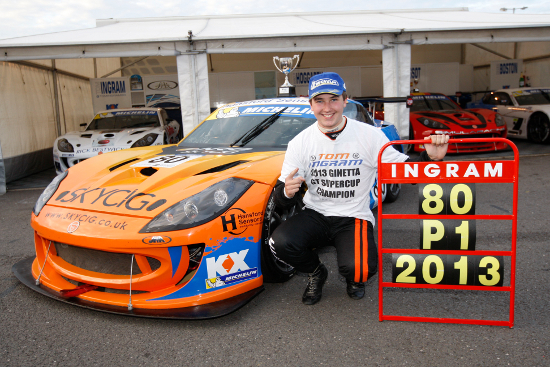 Tom Ingram - 2013 Michelin Ginetta GT Supercup Champion