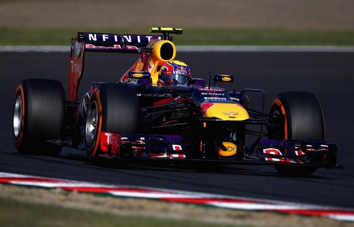 Webber Suzuka pole