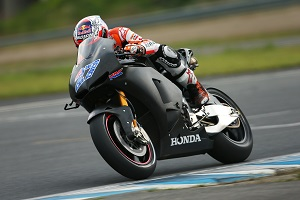 Casey Stoner has already put the R1000R through its paces in testing (Photo Credit: Repsol Honda)